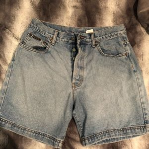 vintage high waisted mom calvin klein shorts